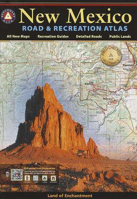 Benchmark New Mexico Road & Recreation Atlas By Benchmark Maps (COR)